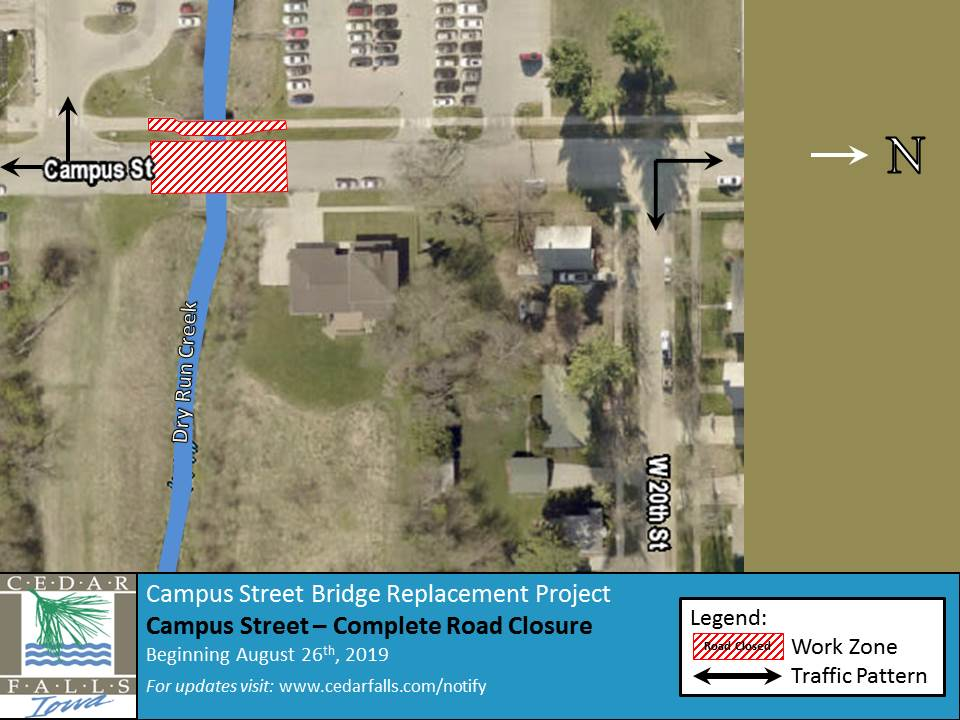 Campus Street  Bridge Replacement Project